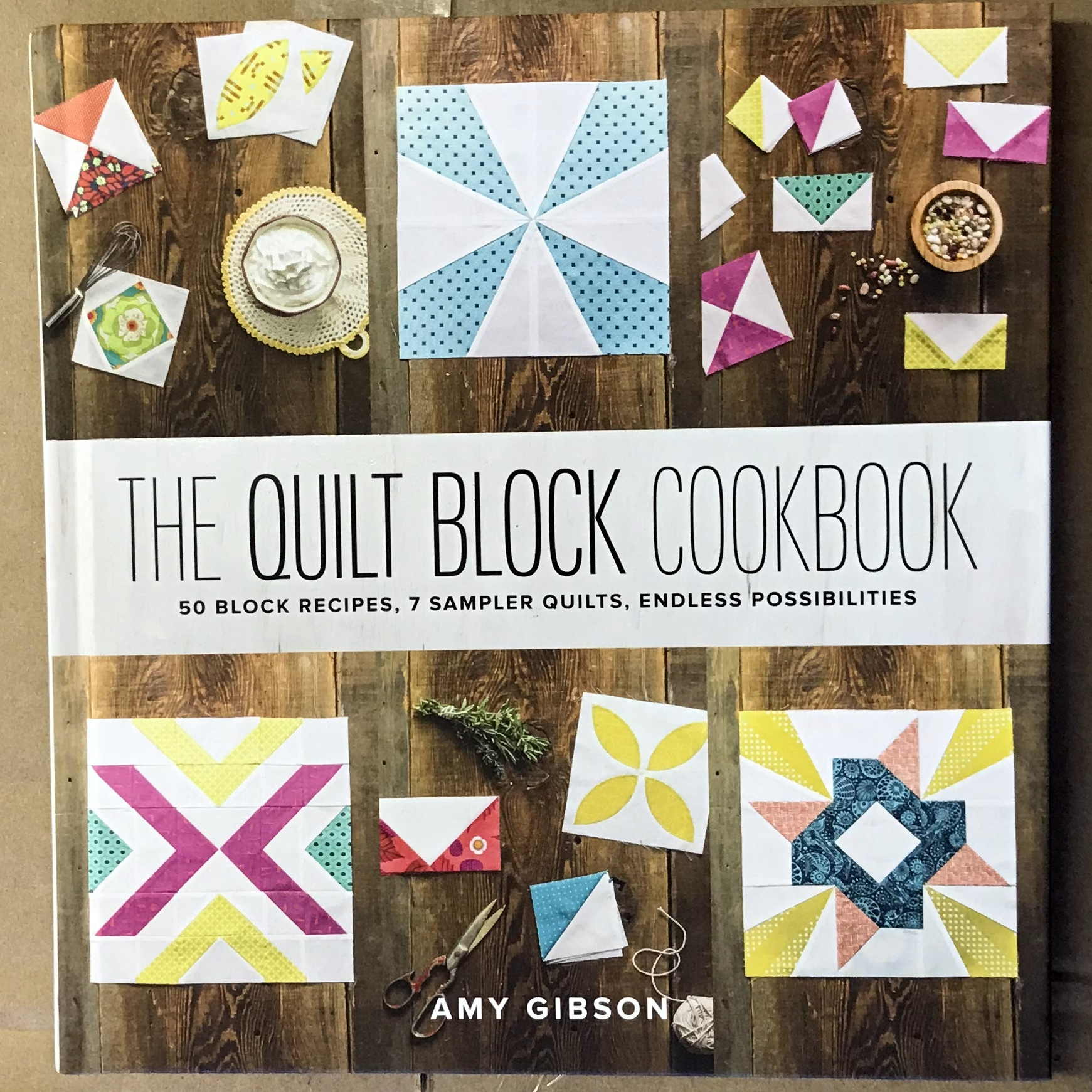 Quilt Block Cookbook cover